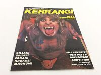 Kerrang Magazine - No 24 - Rock Music - Heavy Metal - (ref7) - kerrang! - ebay.co.uk