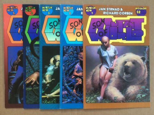 Son Of Mutant World 1-5 Complete 1990 Series Richard Corben