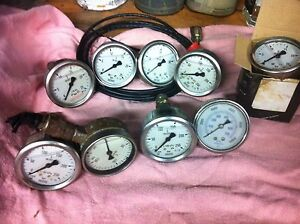 Hydraulic pressure gauges Albany Albany Area Preview