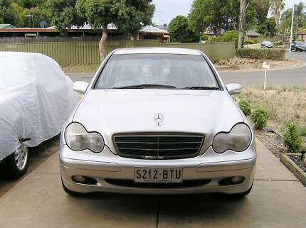 2002  Mercedes - Benz  c200  kompressor W203 Craigmore Playford Area Preview