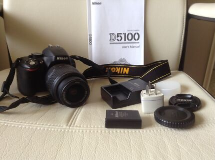 Nikon D5100 DSLR Camera Eight Mile Plains Brisbane South West Preview