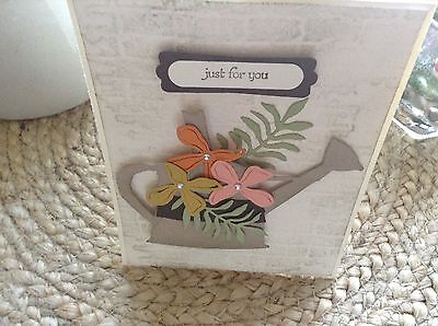 "Watercan Card Kit ""Just for You"" with Envelopes. Stampin Up and other"