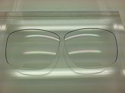 Von Zipper Fulton Custom Replacement Lenses Clear NEW