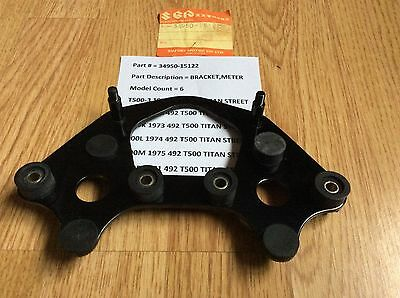 SUZUKI T500 N.O.S METER BRACKET NEW IN THE BAG PT NO 34950-15122