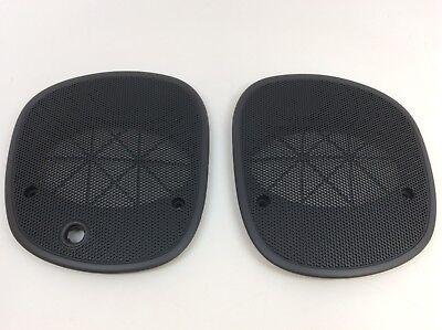 98-05 Chevrolet S-10 Blazer Left & Right Upper Dash Speaker Cover Grilles OEM ()
