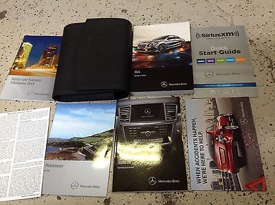 2014 MERCEDES BENZ CLA CLASS MODELS Owners Operators Manual SET Factory OEM