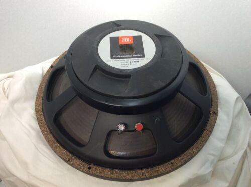 """VINTAGE JBL 2225H 15"""" LF SPEAKER 8 ohm Complete Tested and Works"""