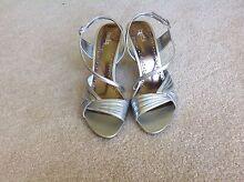 SIlver sandals, size 9 Bellevue Heights Mitcham Area Preview