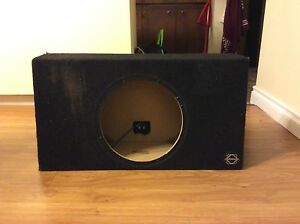 12 inch bass work sealed box