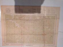 Old military topographical survey maps Mosman Mosman Area Preview