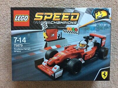 LEGO Speed Champions 75879 Scuderia Ferrari SF16-H NEW & sealed, fast dispatch