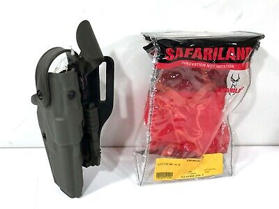 Safariland 6360-83-561-ms30 Als Sls Lvl Iii Holster W Qls Glock 34 35 Rh Green