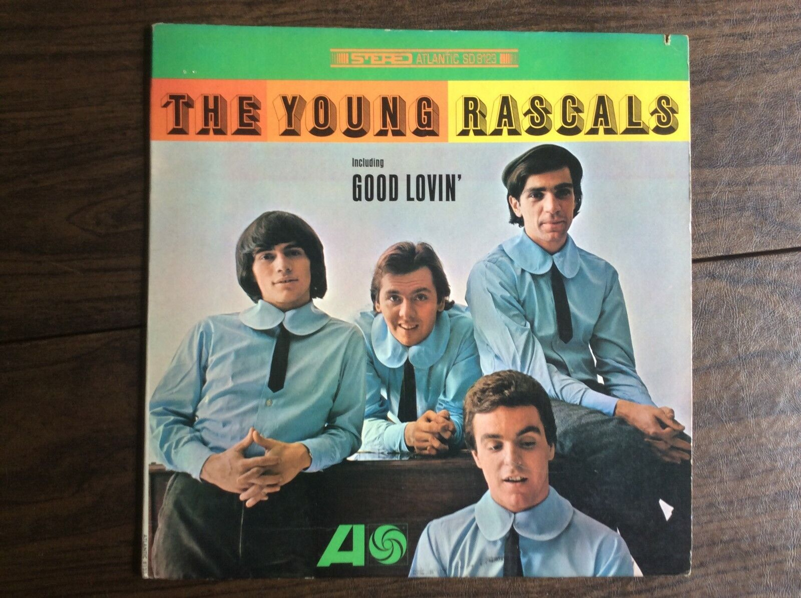 Young Rascals ~ Self Titled w/Good Lovin ~ Atlantic SD 8123 ~ EX Stereo LP
