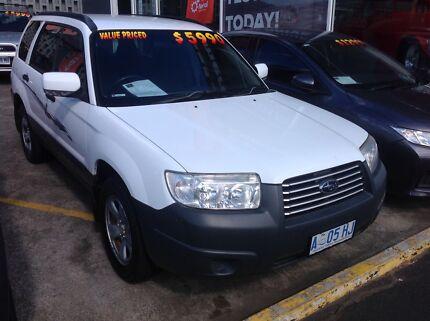 Subaru. Forester X. All wheel drive. Bargain priced. Hobart CBD Hobart City Preview