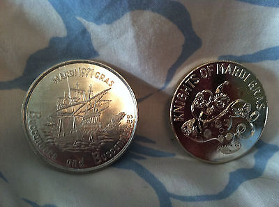 Pirate Ship - Buccaneers - Mardi Gras Token 1971, Knights of Mardi Gras lot