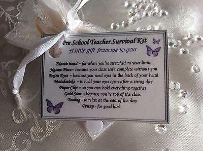 cheap Novelty thank you gift for Preschool Teacher End of Term gift present