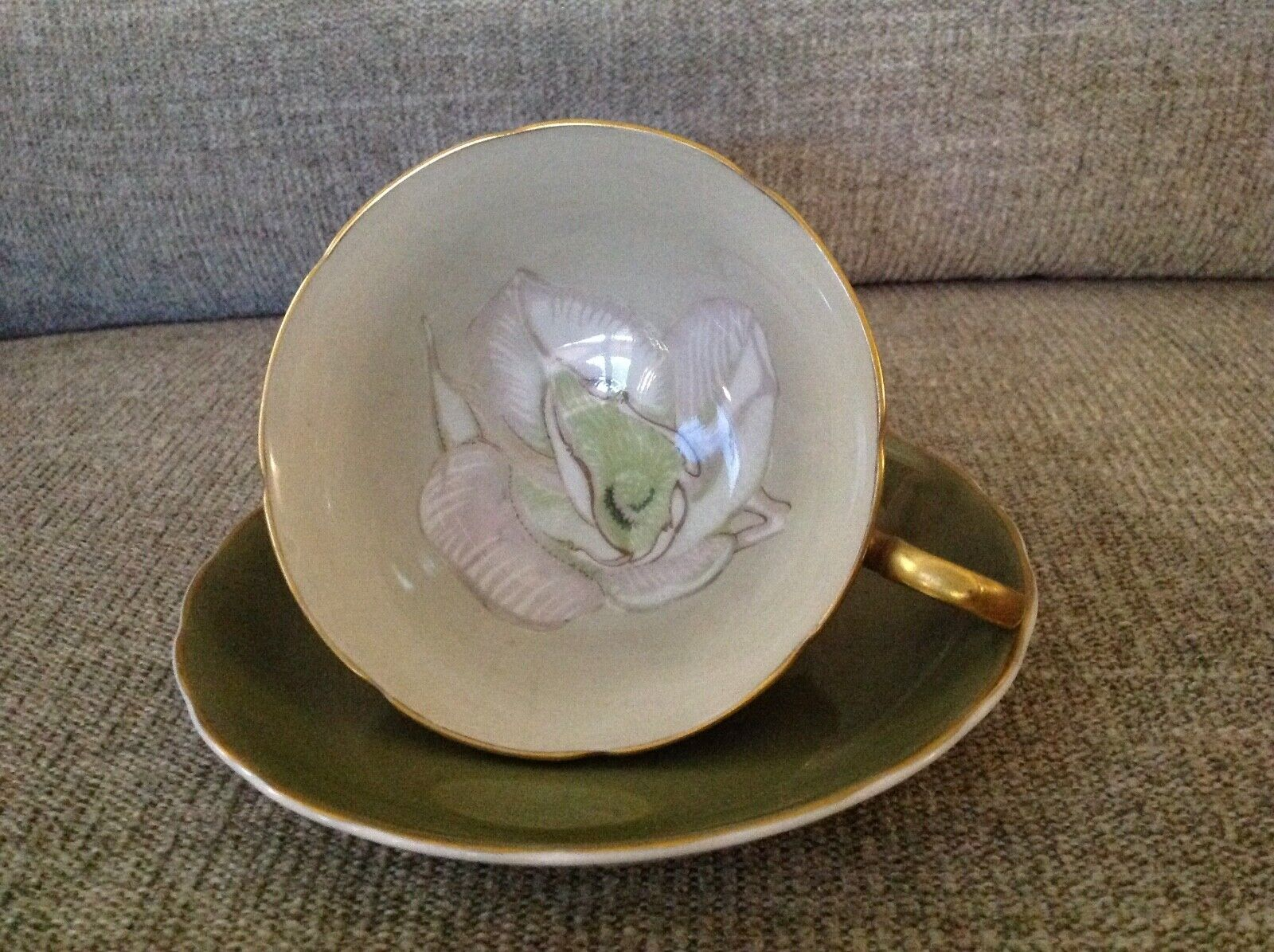 Vintage England Fine Bone China Tea Cup Saucer - $14.95