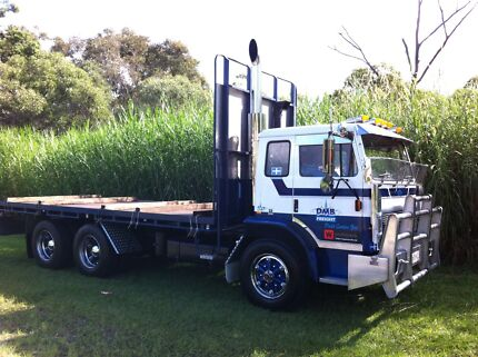 1991 International Acco flatbed Archerfield Brisbane South West Preview