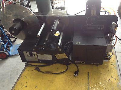 Label Applicator 908-8 With Sato Printer M-8459se