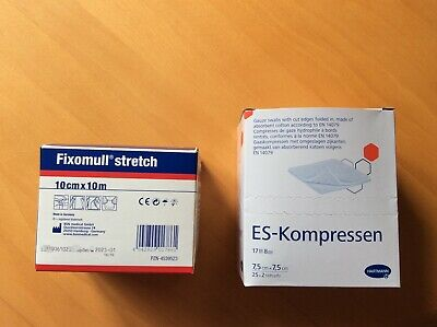 fixomull strech 10 x 10 cm +sterile Kompressen