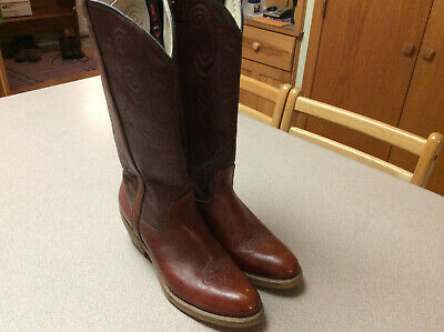 ACME DINGO COWBOY WESTERN RANCH RODEO BOOTS, WOMENS, 8 1/2 N