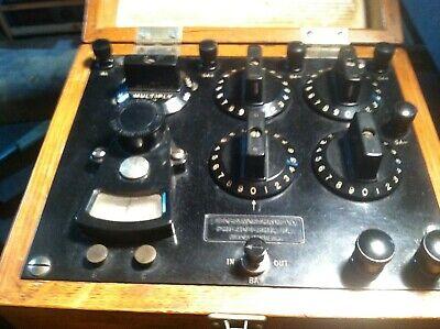 Vintage Leeds Northrup Test Set No. 5305 Galvonometer And Resistance Decade