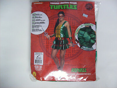 TEENAGE MUTANT NINJA TURTLES RAPHAEL WOMEN HALLOWEEN COSTUME MEDIUM