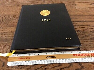 New American Express Appointment Book Leather Organizer Planner 2014 Jan2015 Sss