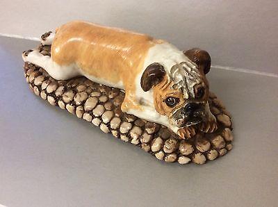 Rare Basil Matthews Bulldog Dog Figure