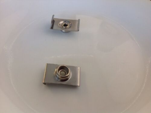 5 X 7/8 Press Stud Windscreen, Canopy Clip Windscreen. Clip Stainless Marine.