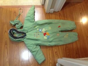 One piece snowsuit toddler 30 month
