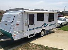 2004 jayco freedom pop top caravan with triple bunks Kilmore Mitchell Area Preview