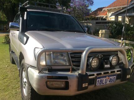 LandCruiser 100 series turbo diesel Sahara 2003 Mount Lawley Stirling Area Preview