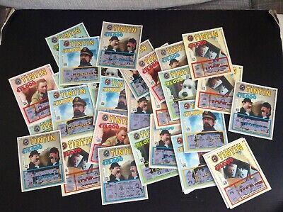 Ensemble de tickets de loterie Tintin BON ETAT