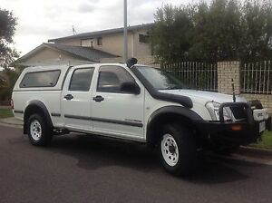 Holden Rodeo 2004 c/cab RA LXL 4WD LWB 3.0LT T/diesel Auto  with RWC Grovedale Geelong City Preview