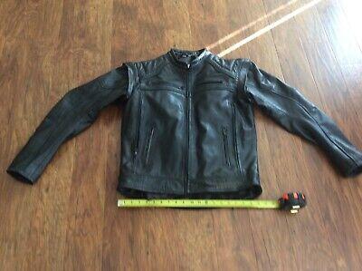 Harley Davidson Mens Ironwood Leather Jacket Vest Very small