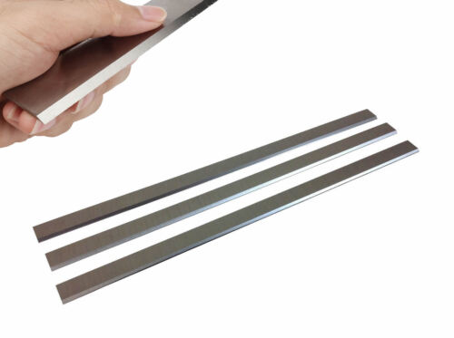 13-1/16 x 5/8 x 1/8 HSS Planer Blades For Jet JPM-13 Grizzly Delta - Set of 3