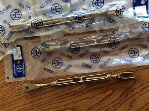 5 Merriman Bronze Turnbuckles    New in original packaging.