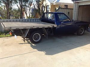 Holden HX 308 royal blue flat tray ute.. Port Kennedy Rockingham Area Preview