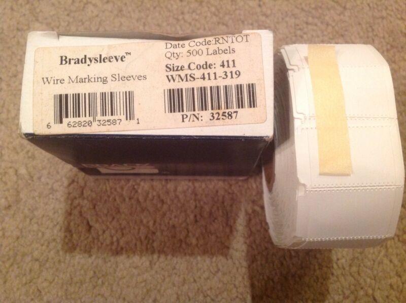 WMS-411-319  32587 Wire Marker, Wire Sleeve, PermaSleeve(R) Brady Bradysleeve