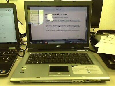 Acer Aspire 3005WLCi Laptop, AMD Sempron T3300+@2.00GHz, 30GB HDD, 1GB RAM,Linux