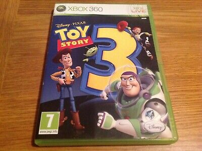 XBOX 360 TOY STORY 3 (PAL) PG Good condition