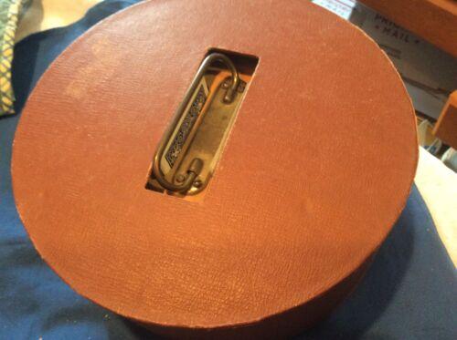 Vintage Wood Covered Poker Chip Holder