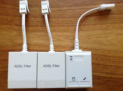 3 x ADSL Filter