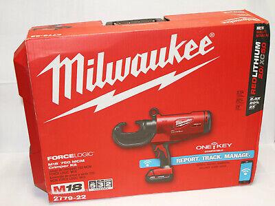 Milwaukee 2779-22 M18 Force Logic 750 Mcm Crimper Kit One Key Compatible 1055