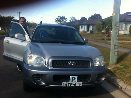 2001 Hyundai Santa fe Windale Lake Macquarie Area Preview