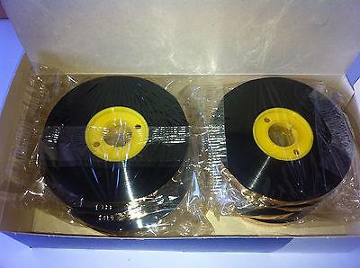 2x Label Tape Colour Olivetti Lettera 4c Underwood Size 111c Correctable Ribbon