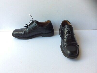 F&F Men's Smart Black Leather Lace Up Oxford Shoes, Size: UK - 10     EU - 44  for sale  Shipping to Nigeria