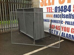 galvanised mesh panels 2200mm x 1500mm. Great for fencing or dog runs,
