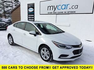 2018 Chevrolet Cruze LT Auto SUNROOF, POWER SEAT, ALLOYS, BAC...